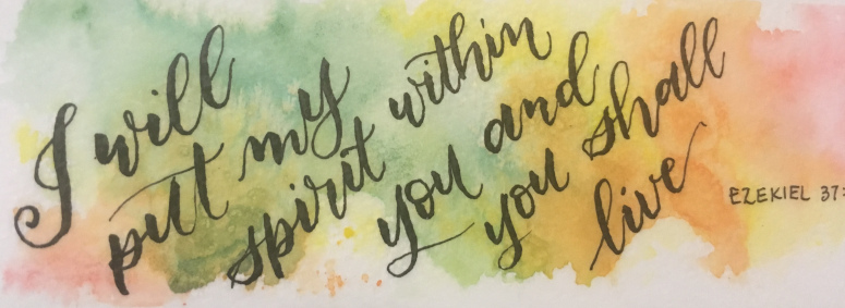Sermon: I will put My Spirit within you